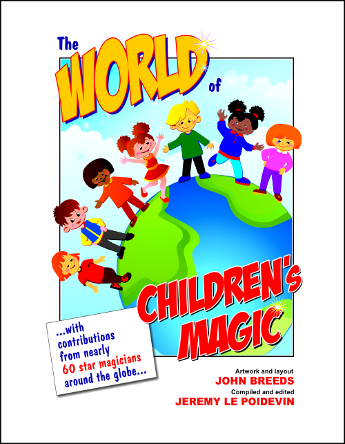 Front Cover of The World of Children's Magic (Artwork and Layout by John Breeds)